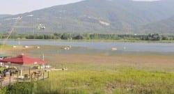 Sapanca Gölü'nü kuraklık vurdu!