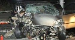 Trabzon'da trafik kazası! 3 ölü!