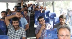 Türk şoförlerimizi teslim aldık!