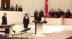Cumhurbaşkanı Erdoğan TBMM'de yemin etti!