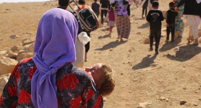 IŞİD kaçırdığı kadınlara tecavüz etti!