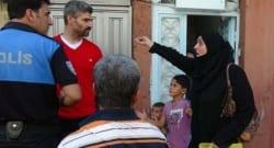 Suriyeliler ağlayarak tahliye edildi!