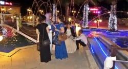 Düğün günü gelin ve damat aracını soydular!