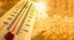 Sıcaklıklar birçok yerde 40 derecenin üzerinde ölçüldü!