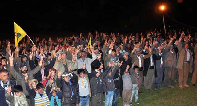 PKK'nın yıl dönümünü kutladılar!