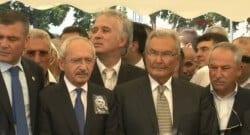 Muhalefetin önde gelen isimleri Seba'nın cenazesinde!