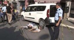 Spatulalı saldırgan gaspçı dehşet saçtı!
