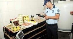 Tam 20 bin şişe sahte gıda ürünü bulundu!