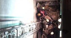 Olay sırasında asansörde 'kurtarın' diye çığlıklar geldi!