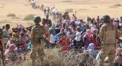 3 bin kişi Türkiye sınırına yığıldı!