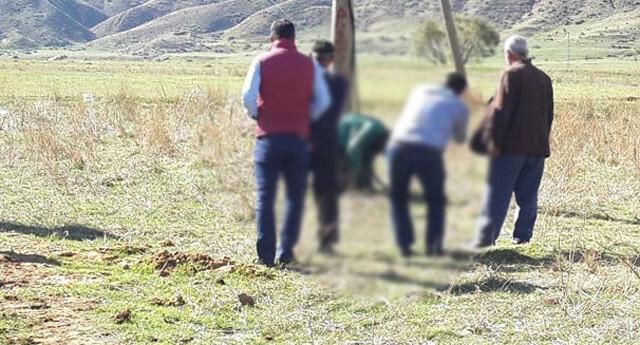 Bitlis'teki köy koruyucusu cesedi elektrik direğinde asılı bulundu!