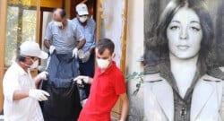 Çöp evde ölü bulunan kadın milyoner çıktı!
