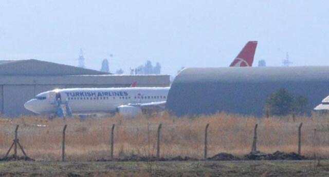 Erzurum-İstanbul seferini yapacak uçak hangara çarptı!