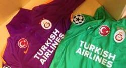 Galatasaray'dan Şampiyonlar Ligi için yeni forma!