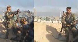 IŞİD, Irak askerini böyle vurdu!