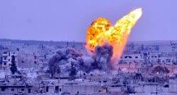 Kobani'de IŞİD savaş uçakları koalisyonunu bombaladı!