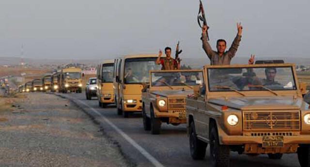 IŞİD güçleri Kobani'nin sokaklarına dağıldı!