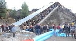 Karaman'da kömür ocağını su bastı! 20 işçi  mahsur!