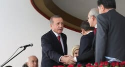 Cumhurbaşkanlığı sitesinde dikkat çeken fotoğraf!
