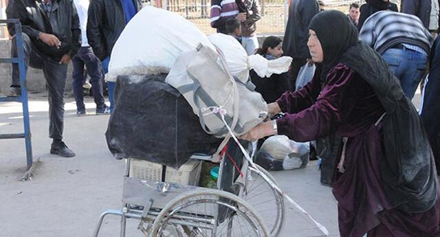 Halep'ten kaçarak Türkiye'ye sığınmaya başladılar!