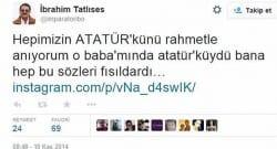 İbrahim Tatlıses'in bu Twitter'daki bu mesajı tepki çekti!
