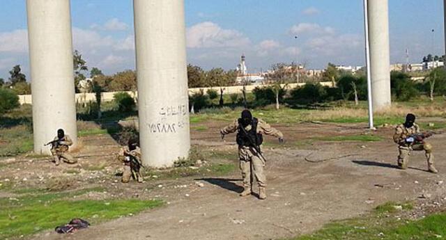 IŞİD'in yaptığı talimler görüntülendi!