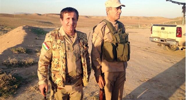 PKK'nın eski komutanı Çürükkaya peşmergeyi eğitiyor!