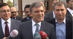 Abdullah Gül, kendisi sordu kendisi cevapladı!