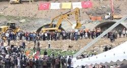 Rize'de tünel inşatı tüneli çöktü: 1 ölü 3 işçi yaralı!