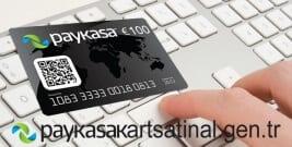 Paykasa kart ile güvenli alışveriş