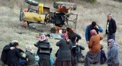 Yokuş aşağı hareket eden Traktör'de öldü