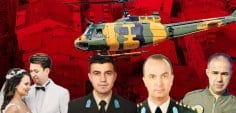 Askeri helikopter bölgeye 25 metre kala düştü!