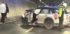 Avrasya Tüneli'nde trafik kazası! Anadolu'dan Avrupa'ya geçişte kuyruk oldu