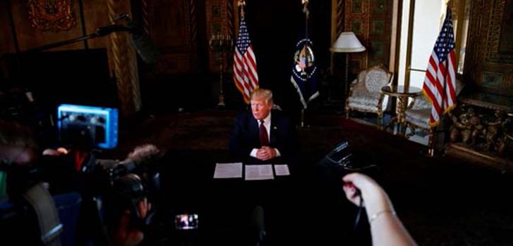 Trump, 'Şüphelerimiz var fakat kesin değil'