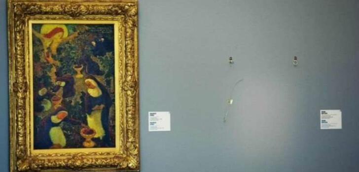 'Çalıntı olan Pablo Picasso'nun eseri bulundu' haberi şaka çıktı!