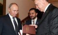 Cumhurbaşkanı Erdoğan, Putin'e kitap hediye etti
