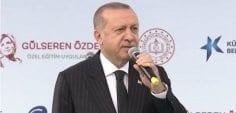 Cumhurbaşkanı Erdoğan, 'Onlar hala sağlık reformunu gerçekleştiremediler'