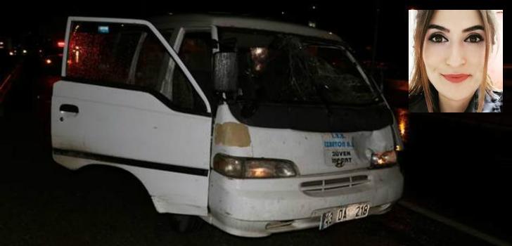 Karşıdan karşıya geçen polise araç çarptı!