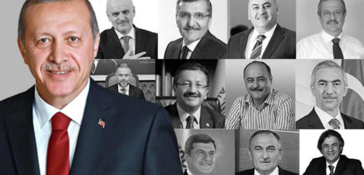 AK Parti'de üç döneme takılan belediye başkanları