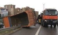 Kadıköy D-100 Karayolunda faciadan dönüldü