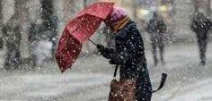 Meteoroloji uyardı! Kar ve şiddetli yagmur uyarısı