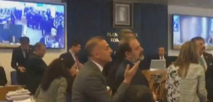 Plan ve Bütçe Komisyonunda tartışma çıktı!