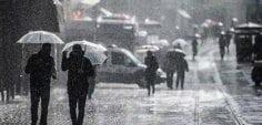 Dikkat! Meteorolojiden buzlanma ve sel uyarısı