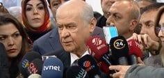 MHP Genel Başkanı Bahçeli'den Cumhur ittifakı açıklaması