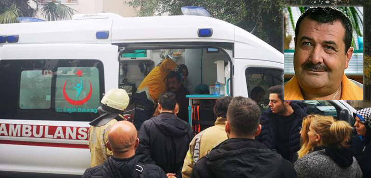 Ünlü oyuncu Tarık Papuççuoğlu'un evinde yangın çıktı