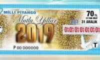 Milli Piyango 2019 yılbaşı çekilişi sıralı tam liste sorgulama