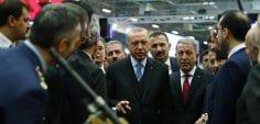 Cumhurbaşkanı Erdoğan, TÜYAP'ta 14. Uluslararası Savunma Sanayi Fuarı'nın açılışına katıldı!