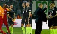 Fatih Terim maç sonu hakemlere çok sert tepki verdi!