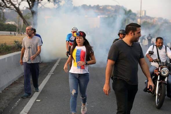 Venezuela Darbe Girişimi