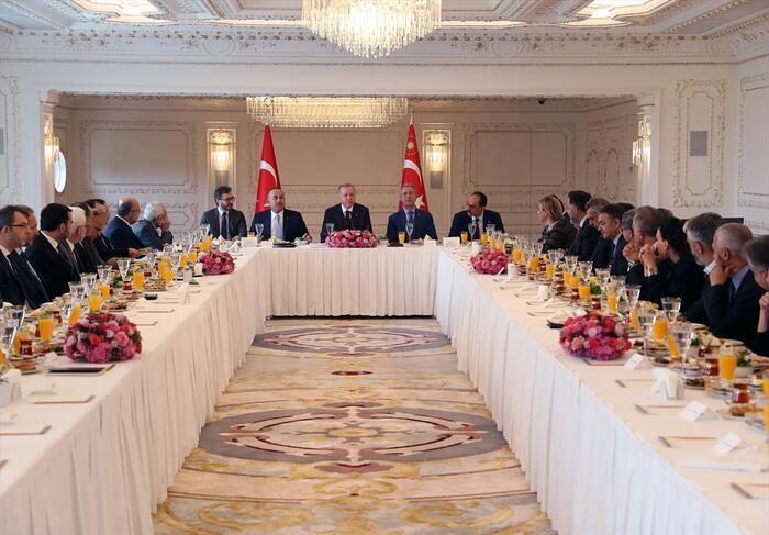 Cumhurbaşkanı Recep Tayyip Erdoğan Vahdettin Köşkü